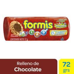 Galletitas Choco. Rellenas c/Vainilla Formis x 72 g.