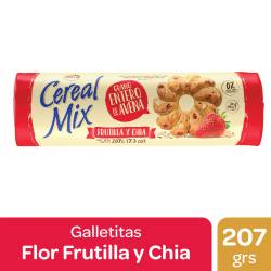 Galletitas Frutilla y Chía Cereal Mix x 207 g.
