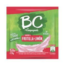 Jugo en polvo Frutilla-Limón BC x 9 g.
