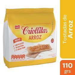 Galletas de Arroz Criollitas x 110 g.