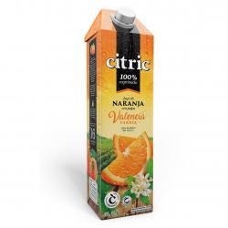 Jugo de Naranja con Pulpa Valencia Citric x 1 Lt.