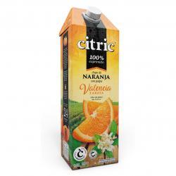 Jugo Naranja con Pulpa Valencia Citric x 1,5 lt.