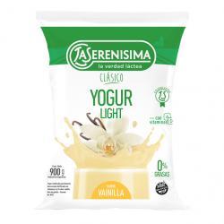 Yogur La Serenísima Clásico sachet descremado x 900 g.