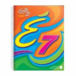 Cuaderno Colegial Tapa Dura Rayado 60 Hojas Éxito x 1 un.
