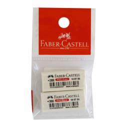 Gomas Lápiz Faber Castell x 2 un.