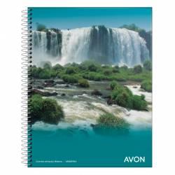 Cuaderno Universal Rayado Espiral Avon 84 Hojas x 1 un.