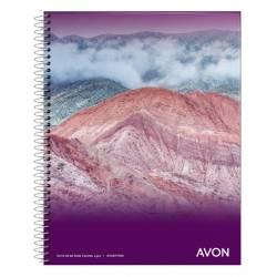 Cuaderno Universal Cuadriculado Espiral 84 Hojas Avon x 1 un.