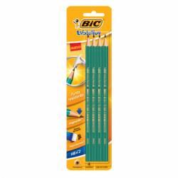 Lápiz Grafito Bic x 4 un.