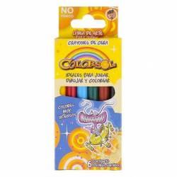 Crayones Colorsol Alba x 6 un.