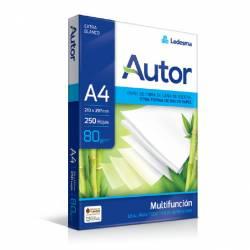 Resma Multifunción A4 80 g. 250 Hojas Autor x 1 un.