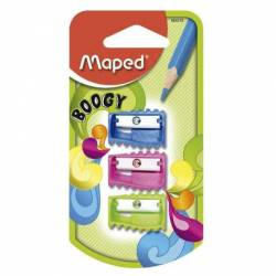 Sacapuntas Boogy Maped x 3 un.