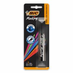 Marcador Permanente Marking Negro Bic x 1 un.