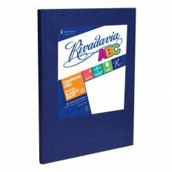 Cuaderno Abc Ray Azul 50 Hojas 19x23,5 Rivadavia x 1 un.