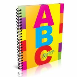 Cuaderno Rayado Abc 21x27 60 Hojas Rivadavia x 1 un.