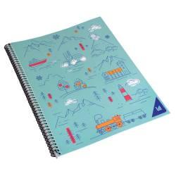 Cuaderno Universal Espiral Rayado 80 Hojas La Anónima x 1 un.
