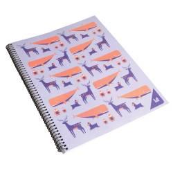 Cuaderno Universal Espiral Cuadriculado 80 Hojas La Anónima x 1 un.