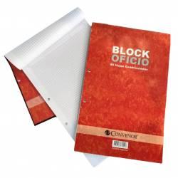 Block Rayado 40 Hojas Oficio Convenor x 1 un.