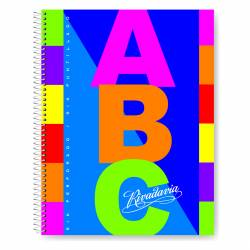 Cuaderno Abc Ray Fantasía 21x27 Rivadavia x 1 un.