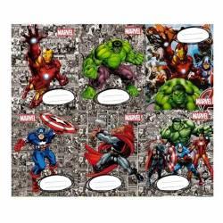 Separadores de Materia Avengers x 6 un.