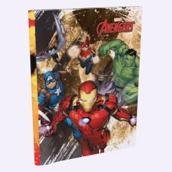 Cuaderno Rayado T/F 48 Hojas Avengers x 1 un.