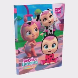 Cuaderno T/F Rayado 48 Hojas Cry Babies x 1 un.
