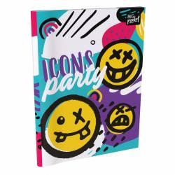 Cuaderno T/F Rayado 48 Hojas Iconos x 1 un.