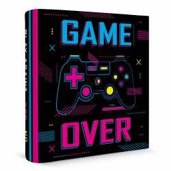 Carpeta N3 Cartone Game Over x 1 un.