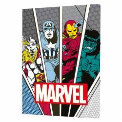 Carpeta Oficio 3 Solapas Marvel x 1 un.