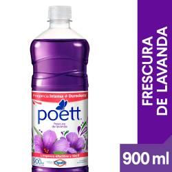 Limpia Piso Desinfectante Lavanda Poett x 900 cc.