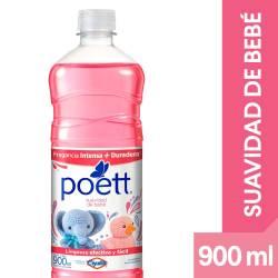 Limpia Piso Desinfectante Suavidad de Bebe Poett x 900 cc.
