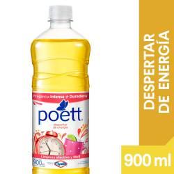 Limpia Piso Desinfectante Despertar de Energía Poett x 900 cc.