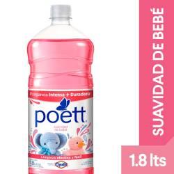 Limpia Piso Desinfectante Suavidad de Bebe Poett x 1,8 lt.