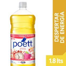 Limpia Piso Desinfectante Despertar de Energía Poett x 1,8 lt.