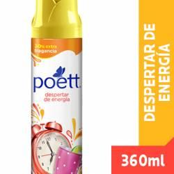 Desodorante de Ambiente Aerosol Despertar de Energía Poett x 360 cc.