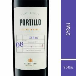 Vino Tinto Syrah Portillo x 750 cc.