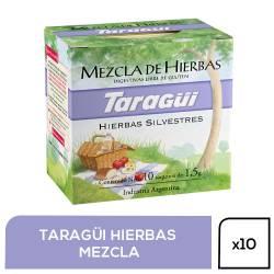 Te en Saquitos Hierbas Digestivas Taragui x 10 un.