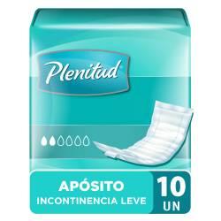 Apósitos Incontinencia Leve Plenitud x 10 un.