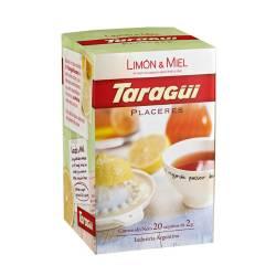 Te en Saquitos Limón-Miel Placeres Taragui x 20 un.