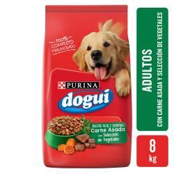 Alimento para Perro Carne con Vegetales Dogui x 8 Kg.