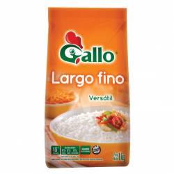 Arroz Grano Largo Bolsa Fino Gallo x 1 Kg.