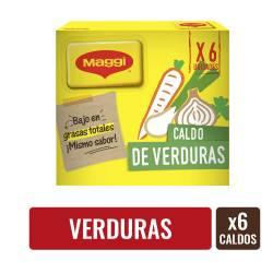 Caldo de Verduras Maggi x 6 un. 57 g.