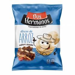 Discos de Arroz sabor Asado Dos Hermanos x 80 g.