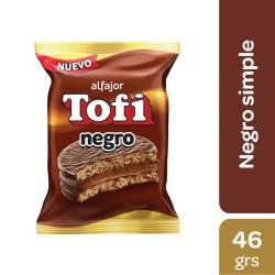 Alfajor Dulce de Leche Negro Tofi x 46 g.