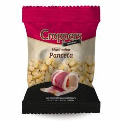 Maní Salado Sin Piel sabor Panceta Croppers x 100 g.