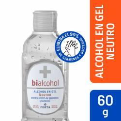 Alcohol en Gel Neutro Bialcohol x 60 cc.