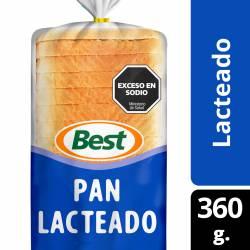 Pan Lacteado Chico Best x 360 g.
