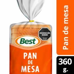 Pan de Mesa Chico Best x 360 g.