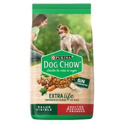 Alimento para Perro Adulto Raza M/G Dog Chow x 8 Kg.