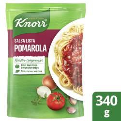 Salsa lista Knorr Pomarola x 340 gr.