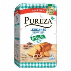 Harina Leudante Sin Sodio Pureza x 1 Kg.